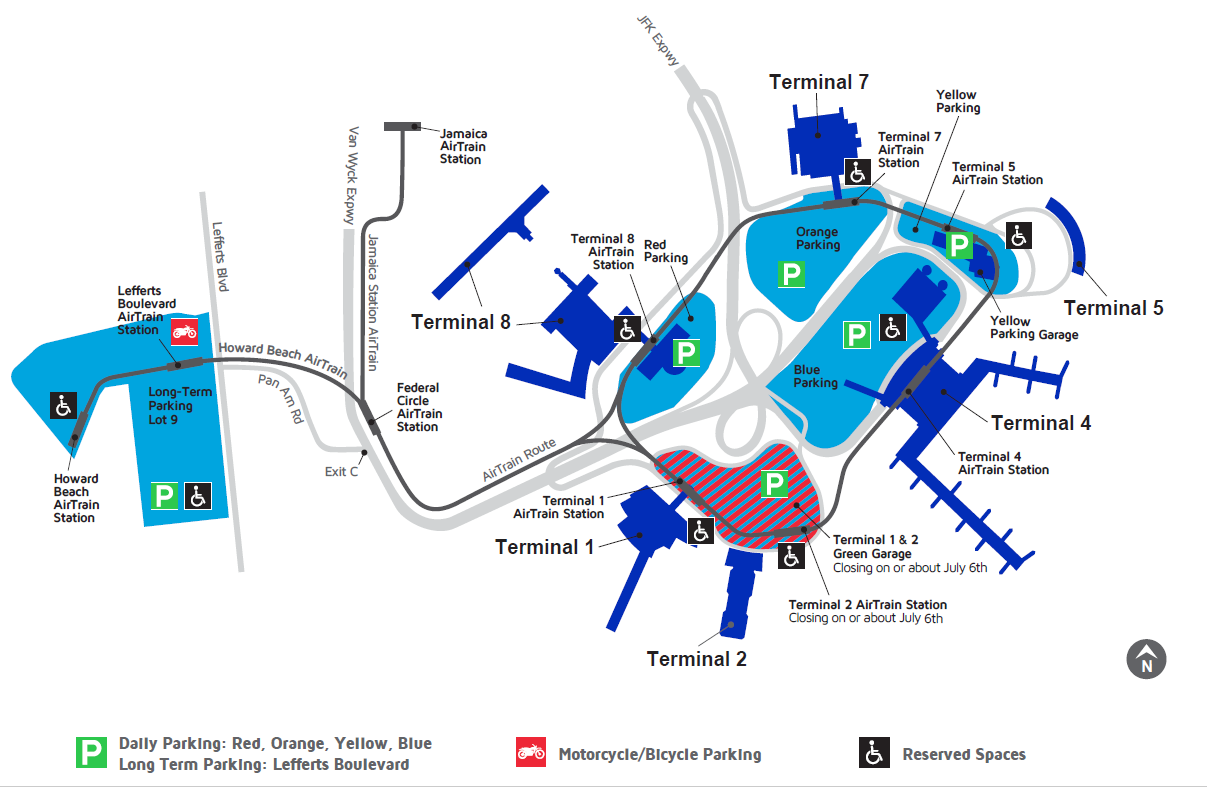 Airport Maps - JFK - John F. Kennedy International Airport
